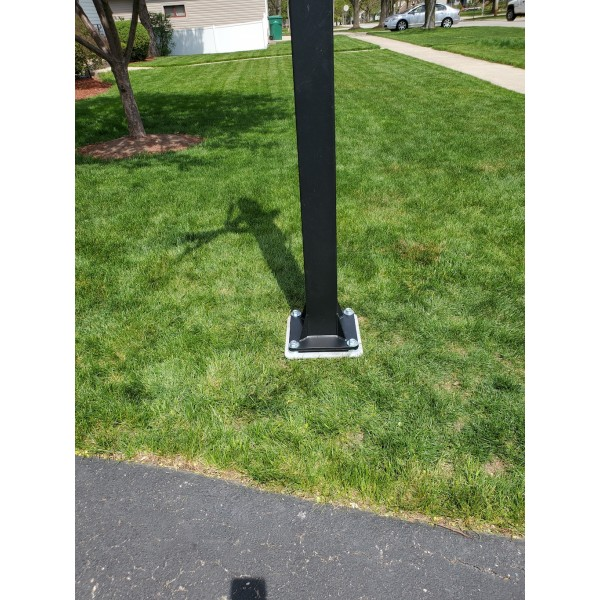 Custom Spindigger Basketball Hoop Solution